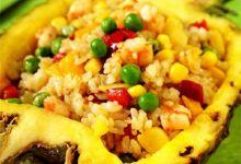 甲米美食图片-菠萝炒饭