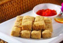 绍兴美食图片-臭豆腐