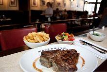 伦敦美食图片-烤牛排
