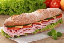 罗马美食图片-意式三明治