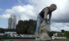 Statue of shearer-特库伊特